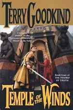 TERRY GOODKIND TEMPLE OF THE WINDS BOOK 4 SWORD OF TRUTH HARDCOVER 1ST ED RARE