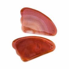 Natural Jade Guasha Facial Roller Massage Face Lift Body Massager Beauty Tool