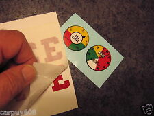 Fuel and Speedometer Gauge decals only 1955 Murray Police Radar Pedal Car, Repro