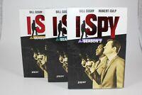I Spy Seasons 1 2 3 DVD Sets (Season 2 & 3 NEW SEALED) Bill Cosby Robert Culp