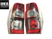 FORD RANGER WILDTRAK 2012- 2020 PAIR OF REAR TAIL LIGHTS LAMPS LENSES - N/S O/S