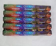 Seven Arcangels 100 Incense Sticks (5 X 20 Stick Packs) Gr Incense Sticks