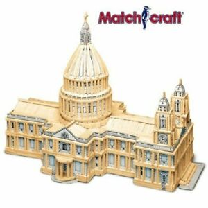 Hobby's St Pauls Cathedral Matchcraft Match Stick Historic Model Kit