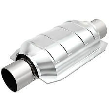 """Magnaflow 337104 Catalytic Converter Oval 2"""" In/Out California CARB Pre-OBDII"""