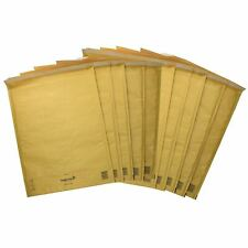 10 Pack Padded Mail Bags Envelopes Gold Mail Lite 350mm x 470mm K/7