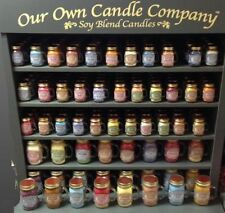 Paraffin Wax Spice Jars/Container Candles & Tea Lights