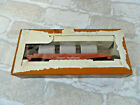 Vintage Ho scale Tyco *Great Northern Flat car w/culvert pipe* w/box~train layou