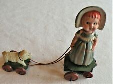 TOY MARY & LAMB CELLULOID WINDUP Vintage