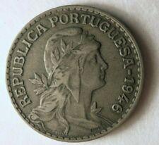 1946 PORTUGAL ESCUDO - Excellent Vintage Coin - BARGAIN BIN #142