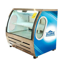 """Criotec 48"""" Curved Glass Refrigerated Bakery Deli Meat Display Cold Case New!"""