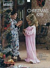 Montgomery Ward Christmas Catalog for 1978 Wards