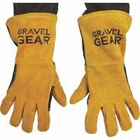 Gravel Gear Premium Welding Gloves Black and Gold