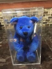 Salvino's Bammers Wayne Gretzky Blue Beanie Bear Cub Brand New with Tag Box Rare