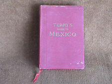 Terry's Guide to Mexico/Houghton-Mifflin 1925/Maps-City Plans-Great Ads/Clean!