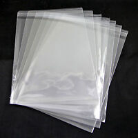 Clear Cellophane Card Cello Display Bag Craft Poly Greeting Cards | Free UK Post