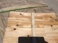 "30 BUNDLES 15 1/4"" Cedar Smooth Siding Shingles Shakes New Old Stock"
