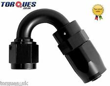 AN -20 (AN20 AN 20) 150 Degree Fast Flow Hose Fitting In Stealth Black