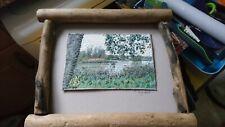 More details for mary hart original framed textile art