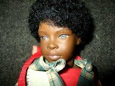 1997 Heidi Ott Little Ones Handmade Swiss Design Afro American Charlie Boy Doll