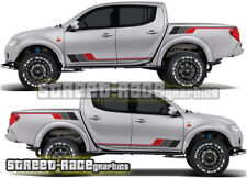 Mitsubishi L200 045 rally raid stickers decals graphics race motorsport