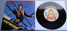 """Adam And The Ants - Antmusic UK 1980 CBS Promotional 7"""" Single P/S"""