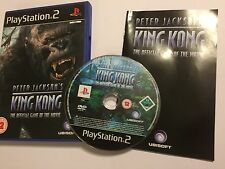 PS2 PLAYSTATION 2 GAME PETER JACKSON'S KING KONG +BOX INSTRUCTIONS COMPLETE