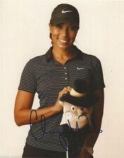 LPGA Cheyenne Woods Autographed Signed 8x10 Golf Photo COA Z