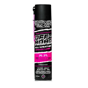 Muc Off Chain Lube Off Road MX Motocross ALL WEATER Moto X with UV Dye 400ml