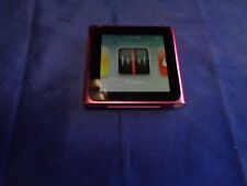 Apple iPod nano 6th Generation Pink (8 GB) mc692ll  perfect screen >mint<