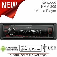 Kenwood Car Stereo¦1 Din Radio¦Digital Media Player¦USB¦AUX¦iPod-iPhone-Android