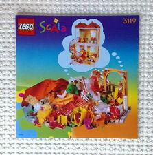 Lego Original Bauanleitung für Scala 3119 Sunshine Home Neu