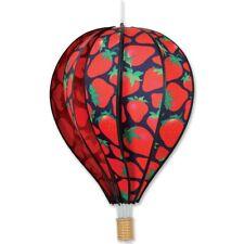 "Strawberries 22"" Hot Air Balloon Wind Spinner Premier"