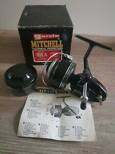 Mitchell Garcia 300A Reel In Near Pristine Condition Boxed (Serial # K084503)