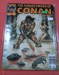 "Savage Sword of CONAN #177 - ""Well of Whispers."" (1974 Marvel)"