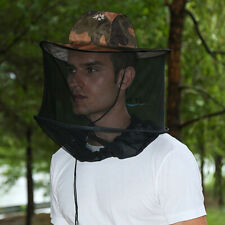 Fishing Hat with Mesh Mosquito Netting Insect Bug Bees Head Net Sun Hats
