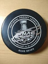 Ryan O'Reilly St. Louis Blues Signed Stanley Cup Finals Game7 Official Game Puck