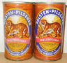 2 HOLSTEN Pilsener Straight Steel cans from GERMANY (35cl)