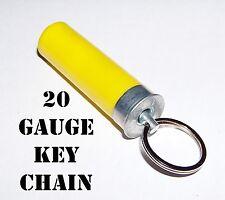 20 Gauge Shotgun Shell Keychain Bullet Gun Case Zipper Pull Handle Remington WIN