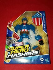 "Figurine Marvel Super Hero Mashers "" Captain America "" Hasbro"