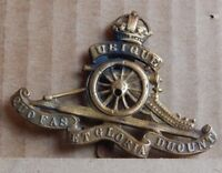 WW1 Royal Artillery Cap Badge Genuine