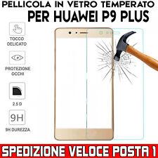 Pellicola Vetro Temperato per Huawei P9 Plus antiurto oleofobica Posta1
