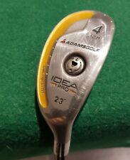 Adams Golf IDEA Pro 4 iron 23 deg Driving Iron / Hybrid Prototype Stiff Flex