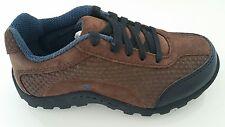 TEVA MONDOS Kids Boys Childrens Suede Walking Shoes UK 12 NEW Childs - Brown