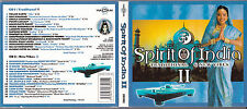2 CD DIGIPACK SPIRIT OF INDIA II TRADITIONAL & NEW VIBES (Ravi Shankar, etc.)