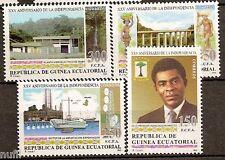 Equatorial GUINEA ECUATORIAL Edifil #174/177 ** MNH XXV Aniv. Independencia
