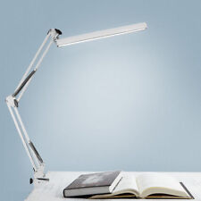 Desk Lamp Reading Adjustable Folding Clip-on LED Table Swing Arm Light Lamp US