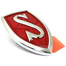 JDM Nissan 95-98 240SX Silvia S14 Front Hood S Emblem Red Badge Genuine Part OEM