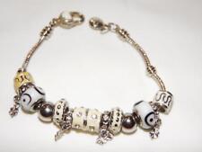 Pandora Bracelet with Heart Shaped Lock Clasp