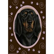 Paws Garden Flag - Black and Tan Coonhound 174021