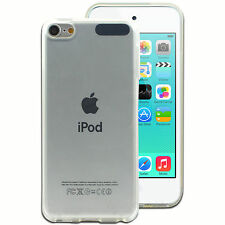 0.3 mm Soft Silicon TPU Transparent Back Case Cover for Apple iPod Touch 5 / 6